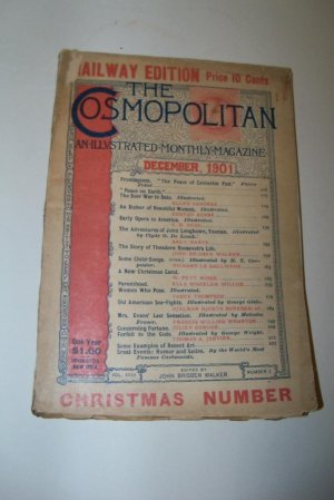 Antique COSMOPOLITAN Magazine December 1901 Boer War