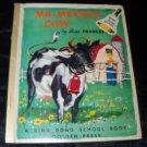 Vintage 1955 Mr Meyer's Cow by Miss Frances Horwich Ding Dong School Golden Press Book 1st Ed