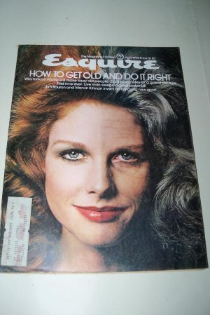 Vintage ESQUIRE Magazine April 1975 Sleep in Great Pyramid