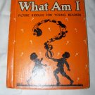 Vintage 1934 What Am I? : Picture Riddles for Young Readers by Lily Lee Dootson Children's Book