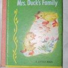 Vintage 1948 Mrs. Duck's Family Little Book Children's