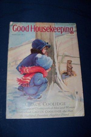 Vintage Good Housekeeping Magazine February 1935 Walt Disney Silly Symphony Cookie Carnival