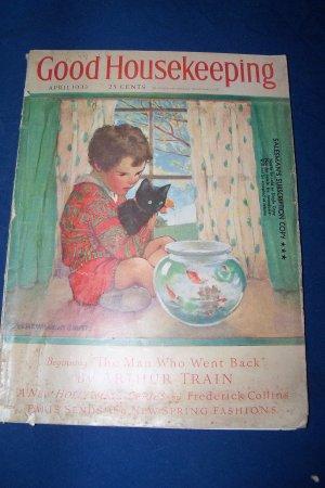 Vintage Good Housekeeping Magazine April 1933 Fashion