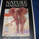 Vintage NATURE Magazine June 1932 Elephant vol 19 no 6