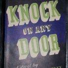 Vintage 1947 KNOCK ON ANY DOOR Willard Motley HC/DJ Book