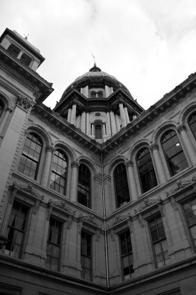 State Capitol BW 8x10
