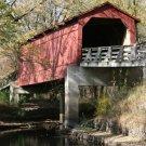 Sugar Creek Covered Bridge Vertical 8x10