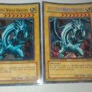 Blue Eyes White Dragon Limited Edition y Regular Brillante!