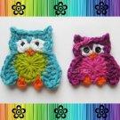 Oliver and Olivia Owl Applique Pattern