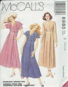 McCall's Sewing Pattern 6980 Women's Dress (12, 14, 16)
