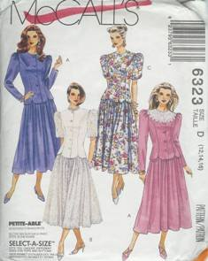 McCall's Sewing Pattern 6323 Women's Dress (12, 14, 16)