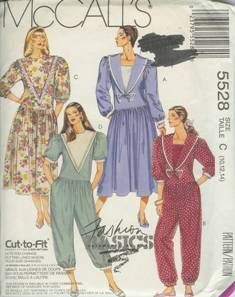 McCall's Sewing Pattern 5528 Women's Dress and Jumpsuit (10,12, 14)