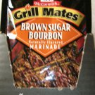 10 PACKS McCORMICK'S  GRILLMATES BROWN SUGAR BOURBON