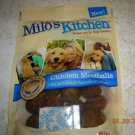5 PACKAGES MILO'S KITCHEN CHICKEN MEATBALL  DOG TREATS