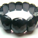 BONXSE0825C Onyx Semi Shape 18x21mm Cut Bracelet