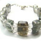 BA3577 Phantom Quartz Oval Shape 13x8mm Bracelet