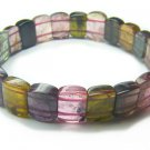 BA6879 Tourmaline Rectangular Shape  Bracelet