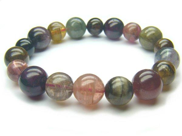 BA6312 Tourmaline Mix Shape  Bracelet