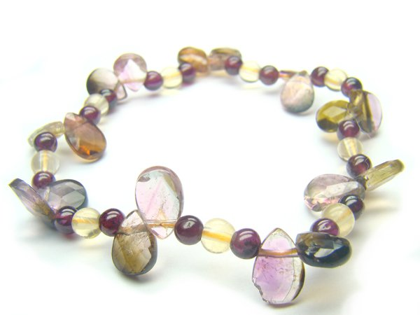 BB82 Tourmaline Mix Shape  Bracelet