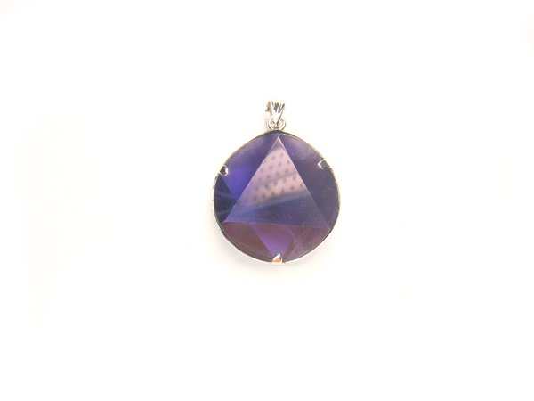 PA1144 Amethyst Star of David 20mm Pendant