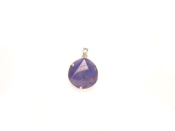 PA1490 Amethyst Star of David 15mm Pendant
