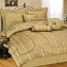 Wyndham House™ 7pc Jacquard King Size Comforter Set