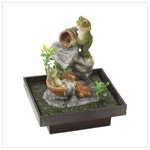 Playful Frog Fountain 39658