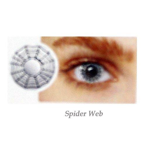 EYE CONTACT LENS SPIDER-WEB