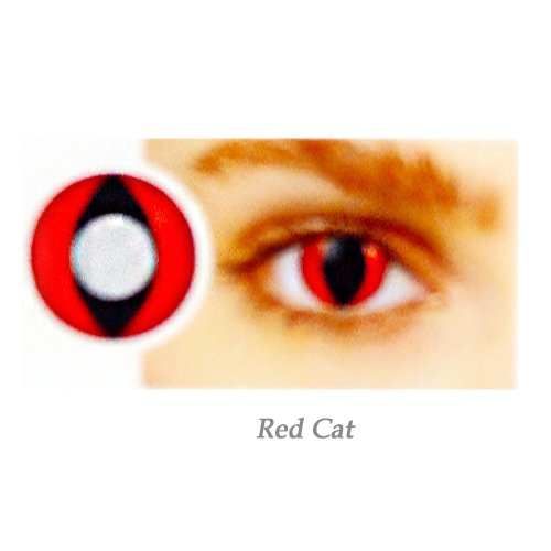 EYE CONTACT LENS RED-CAT