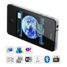 4GSI9+ Quad Band Dual Cards Wifi Java Touch Screen Cell Phone (Black)