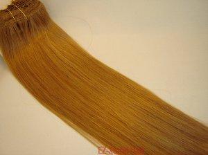 """100% Remy human hair clip on (Yaki straight(18"""" #14)"""