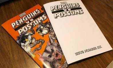 Penguins vs. Possums #6: Blank Sketch Cover