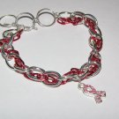Breast Cancer Chain Bracelet