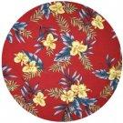 Okalani - Hawaiian Fabric (RED)