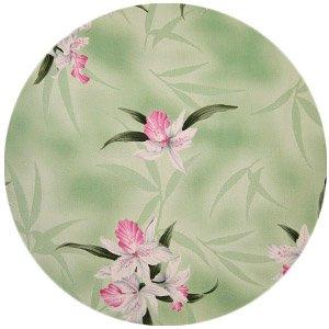 Orchids - Fabrics (Green)
