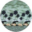 Tropical Print Fabric - Molokini (Green)