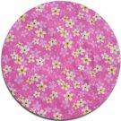 Plumeria - Floral Fabric (Pink)