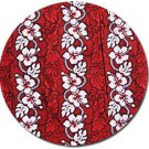 Hawaiian Fabric - Red
