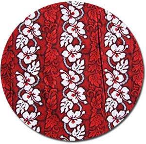 Hawaiian Fabric - Red