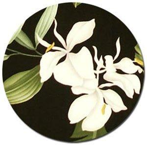 Pua Rayon Fabric - Black