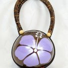 Coconut Handbag PUrple