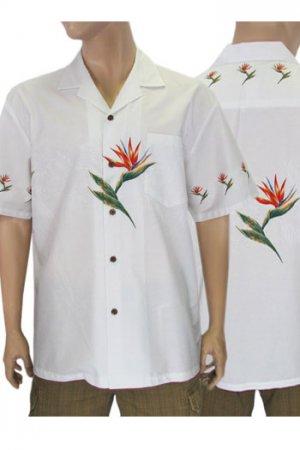 White Hawaiian Shirt
