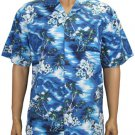 Lou'lu Men Cotton SHirts - Navy 2XL - 3XL