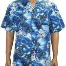 Lou'lu Men Cotton Shirts - Navy