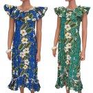 Long Muumuu Dresses - Kalea  2XL-3XL