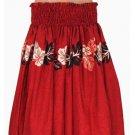Red Hula Skirt - Laele