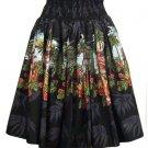 Hula Girl - Tropical Skirt - Black