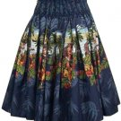 Hula Girl - Tropical Skirt - Navy