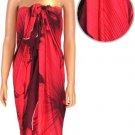 Hawaiian Red Sarong
