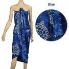 Turtle - Blue Sarong